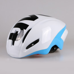 tt helmets Promo Codes - New 300g Aero TT Road Bicycle Helmet Racing Cycling Bike Sports Safety Helmet in-mold Road Bike Cycling Helmet size M 54-58cm