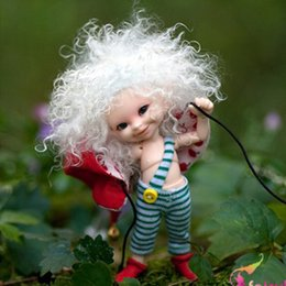 Wholesale bjd baby - OUENEIFS bjd sd Dolls fairyland realpuki soso 1 13 model reborn baby dolls eyes High Quality toys shop make up