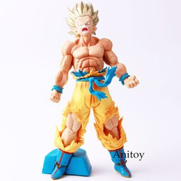 Wholesale dragons blood - dragon ball Dragon Ball Z Blood of Saiyan Son Goku PVC Action Figure Collection Model Toy 20cm