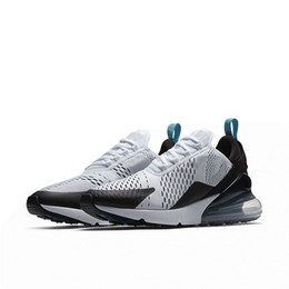 Wholesale art cactus - 2018 New 270 Photo Blue CACTUS Mens Designer Sports Running Shoes for Men Sneakers Women Luxury Brand Casual Trainers