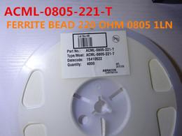 50 шт. / Лот Многослойные Ферритовые Чип Бусы ACML-0805-221-T 220 ОМ 0805 1LN в наличии бесплатная доставка от