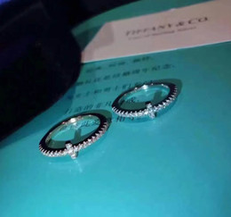 sterling silber kreuz ringe frauen Rabatt 1: 1 neuankömmling S925 reines silber Top qualität paris design frauen ring alle diamant kreuz stil dekorieren stempel logo charme frauen schmuck PS6439
