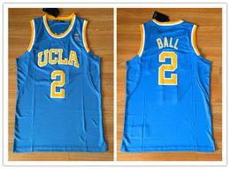 2019 jerseys nombres Camiseta de baloncesto Lonzo Ball para hombre Nombre cosido Número UCLA College Jerseys Tamaño S-2XL jerseys nombres baratos