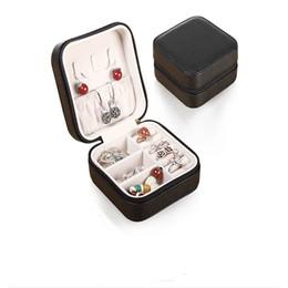 stands de fábrica por atacado Desconto Caixa De Jóias Portátil Princesa Estilo Europeu Pulseira Coreano Brincos Receber Um Mini Bracelet Box Colar Anel