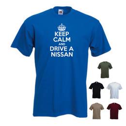 2019 coches nissan micra Detalles zu 'Keep Calm and Drive a Nissan' Funny Car Juke Micra GT Note Men'sT-shirt Tee Camiseta divertida de envío gratis Unisex Casual camiseta de regalo coches nissan micra baratos