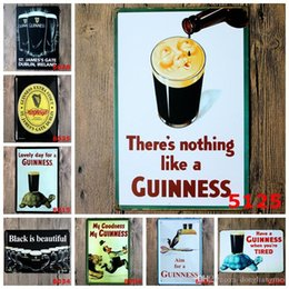 emblem homes NZ - 20*30cm Metal Tin Sign Beer my Guinness Retro Vintage Classic Tin Bar Pub Home Wall Decor Retro Tin Poster wn564