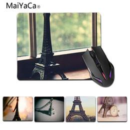 2019 miniature in gomma MaiYaCa Boy Pad regalo in miniatura Torre Eiffel Mouse in gomma Durevole Desktop Mousepad Dimensioni 25x29cm 18x22cm Tappetini in gomma miniature in gomma economici