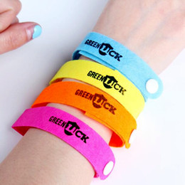 Wholesale jelly bands wholesale - New Anti Mosquito Bug Repellent Wrist Band Adjustable Strap Bracelet Insect Nets Bug For Camping Non-toxic