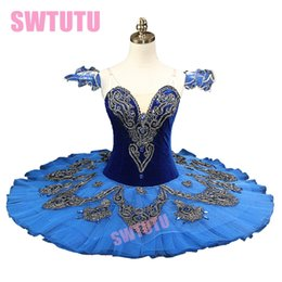 2019 trajes de aves azuis Pássaro azul Ballet Tutu Nutracker Traje BT8992A Clássica panqueca tutu ballet Princesa Profissional Florina Palco Tutu BT8992A desconto trajes de aves azuis