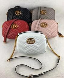Wholesale Cross Body Backpacks For Women - 3gh quality women Fashion luxury designer handbags leather backpack bags for women Chain shoulder bag ladies handbags cross Body bag