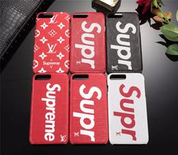 Casos telefones meninas on-line-Caso de luxo para iphone x xr xs max 6.5 polegadas moda couro sup telefone de volta case para apple iphone 8 7 6 6 s plus masculino / menina marca presente capa