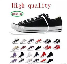 8866633c65e Brand New Unisex Low Style Adult Women s Mens stars conve Canvas Shoes  Laced Up Casual Shoes Sneaker 15 Colors Drop Shipping high Quality