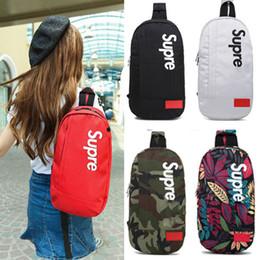 Supme Omuz Çantaları Seyahat Duffel Çantaları Gençler Için Okul Çantası Yetişkin Göğüs Paketi 14 Renkler DHL Ücretsiz Kargo supplier travel packs nereden seyahat paketleri tedarikçiler