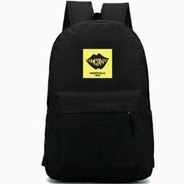 e37e9cdc15a6 Rich love backpack One Republic daypack Waking up rock band schoolbag Music  rucksack Sport school bag Outdoor day pack