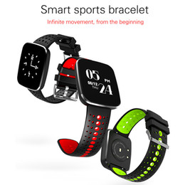 Wholesale Heart Silica - Newest V6 Smart Bracelet with Waterproof Funtion Silica Heart Rate Wristbands Hot selling Bluetooth Smart Watch