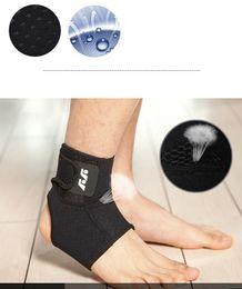 coldres de arma preta Desconto Apoio tornozelo Cintas Ajustáveis Super Forte Ankle Brace Respirável Composto Neoprene Material Super Elastic e Confortável