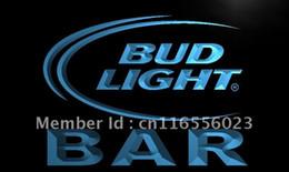 2019 sinal de néon da cerveja clara do botão LA093-BAR Bud Beer LEVOU Luz Neon Sign home shop artesanato sinal de néon da cerveja clara do botão barato