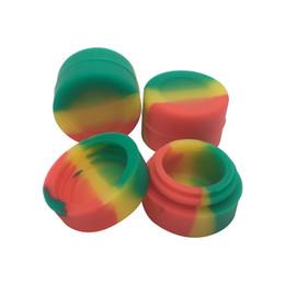 Canada Livraison gratuite Pots Silicone Dab Wax Container, 3ml Silicone Dab Container, Conteneur Non-Stick Offre