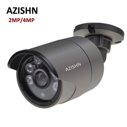 Wholesale Metal Detection - H.265 IP Camera 2MP F22 4MP OV4689 25FPS DC12V 48V PoE ONVIF Motion Detection IP66 Metal Outdoor Surveillance CCTV Camera