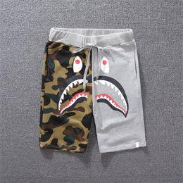 Animales de ropa online-Diseñador de lujo Pantalones cortos de verano para hombre Pantalones cortos Pantalones cortos de skate Hasta la rodilla Animal Impreso Tipo de cierre Cordón Mediados de cintura M-2XL
