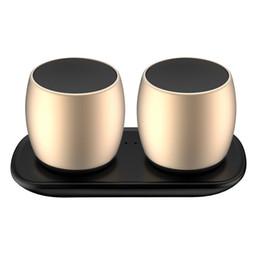 Canada Qualité sonore haut de gamme! TWS haut-parleurs Bluetooth, subwoofer en métal, cadeaux haut-parleurs Bluetooth, deux haut-parleurs, à la mode et roman.Livraison gratuite! Offre