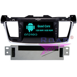 Wholesale car radio double din android - Roadloevr Android 6.0 Car Radio GPS Navigation For Peugeot 508 Stereo Autovideo Magnitol Double Din DVD Player PC Monitor MP3
