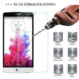 Canada Paquet de 2 Protecteur d'écran avant Premium en verre trempé pour LG G2 G3 G4 G5 G3 mini K4 K7 K8 K10 V10 K6 compact supplier g2 screen protector Offre