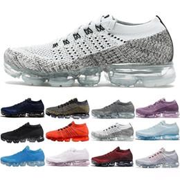 Wholesale New Woman Fashion Shoes Summer - New Vapormax Mens 2018 Running Shoes For Men Sneakers Women Fashion Athletic Sport Shoe Corss Hiking Jogging Walking Outdoor Running Shoe