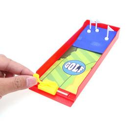 Унисекс подарки онлайн-Забавный настольный гольф игра-стрелялка пальчиковые игрушки детские мини-интерактивные развивающие игрушки спортивные подарки детям на день рождения