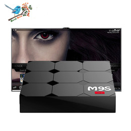 Wholesale Play Install - M9S V3 android 6.0 tv boxes RK3229 KDplayer 17.3 installed 4K HDR H.265 HEVC 3D Movies play 1GB 8GB WIFI Internet TV Box set top box