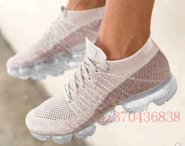 Wholesale real true - 2018 New Rainbow VaporMax 2018 BE TRUE Men Shock Running Shoes For Real Quality Fashion Men Casual Vapor Maxes Sports Sneakers