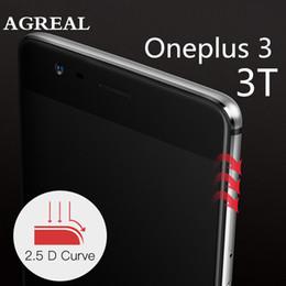 2019 oneplus zubehör OnePlus 3 gehärtetes Glas original OnePlus 3T Displayschutzfolie 3T Glas Vollabdeckung weiß schwarz Zubehör 5,5 Zoll rabatt oneplus zubehör