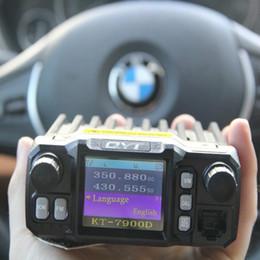stations de radios Promotion QYT KT-7900D radios de voiture mobiles quadribande quatre bandes 25 w VHF UHF longue distance Radio portative 10 km ham radio émetteur-récepteur