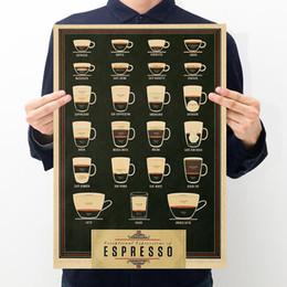 Papel De Fundo preto Poster Bar Café Pintura Decorativa Do Vintage Interior Poster Decoração Artesanato Casa de Café Suprimentos 0 5zx ii de