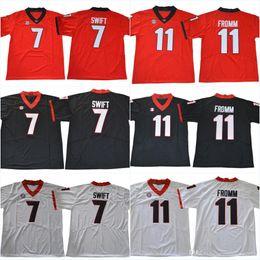 Wholesale Nicks Jerseys - UGA #1 Sony Michel 7 D'Andre Swift #11 Jake Fromm 27 Nick Chubb 10 Eason 34 Herchel Walker 3 Todd Gurley II College Jerseys Free Shippi