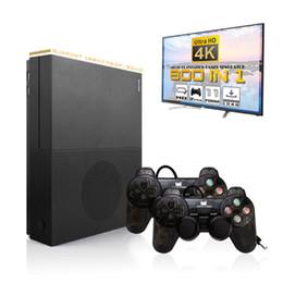 2019 автомобиль с углеродным волокном HDMI4K игровой автомат X PRO TV Out Game Player Box с геймпадом контроллер Family Party классические ретро-игры B60