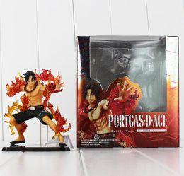Wholesale one piece zero - Anime One Piece ZERO Portgas D Ace PVC Action Figure Model Collection Toy 12CM Battle Free Shipping