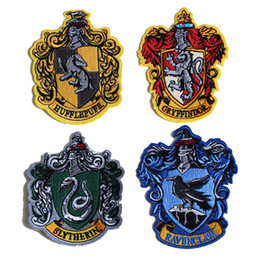 Harry Potter Magic Academy Ravenclaw brodé Lron sur Patch Crest Badge Appliques Fait De Tissu Gratuit DHL 1072 ? partir de fabricateur