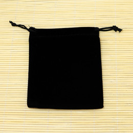 coating chemical Coupons - Small Black Velvet Bags 9x12cm Fit For Jewelry Packing Bags Christmas Candy Gift Bags Free Shipping 50pcs lot