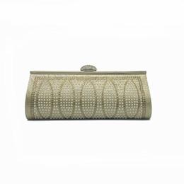 Wholesale designer handbags crystal - Fashion Rhinestone Crystal Clutch Women Evening Bags 2017 Designer Party Bridal Handbag For Women Vintage Female Messenger Bag
