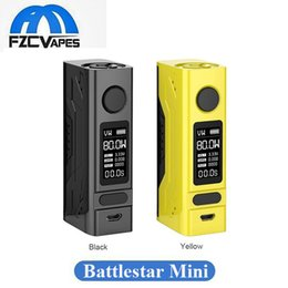 Wholesale Mini Display Box - Authentic Smoant Battlestar Mini 80W Box Mod Temperature Control Vape Mod Compact Size with 0.96inch OLED Display 100% Original