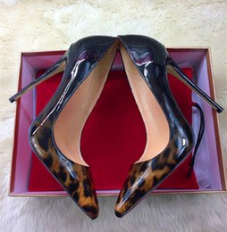 2018 style européen et américain léopard chaussures à talons hauts 12cm ultra-mince avec discothèque pointu femmes pointues chaussures sexy ? partir de fabricateur