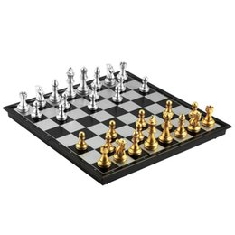 Wholesale games choice - OBCANOE Magnetic Travel Chess Traditional Folding Chess Board with 32 Chess Pieces Great Game Choice on the Trip or at Home