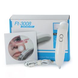 Scanner per la pelle online-L'analizzatore della pelle della mini macchina portatile di analisi della pelle dell'analizzatore della pelle diagnostica l'alta qualità dell'attrezzatura del salone di bellezza nuova