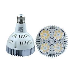 Wholesale Garden Down Lights - Super Bright PAR30 E27 LED spot down light 35W led bulb spotlights LED lamp AC 100-240V Warm Cold White