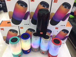 Wholesale Perfect Card - Factory direct sell pulse bluetooth speaker LED flash light bluetooth speakers with retail package perfect sound subwoofer