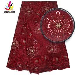 Wholesale White Swiss Cotton Voile Lace - African Dry Lace Fabrics High Quality For Men Cotton Dry Lace Fabric Swiss Voile White Swiss Voile Lace In Switzerland AMY842B-2