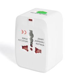 Wholesale International Plug Sockets - Electric Plug power Socket Adapter International travel adapter Universal Travel Socket USB Power Charger Converter EU UK US AU