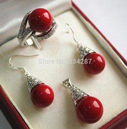 8pcs 12mm Schale Perle Anhänger ohne Ketten