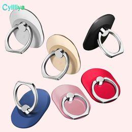 Палец кольцо сотовый телефон кольцо держатель кронштейн металл ленивый кольцо пряжка мобильный телефон кронштейн 360 градусов стенд держатель для универсального мобильного телефона от